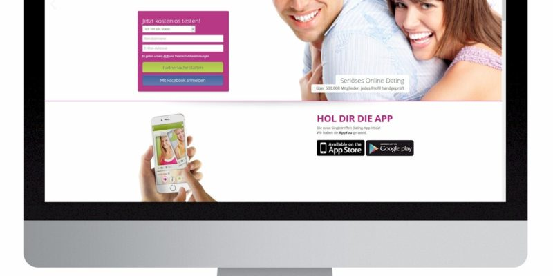 Webdesign Singletreffen.de